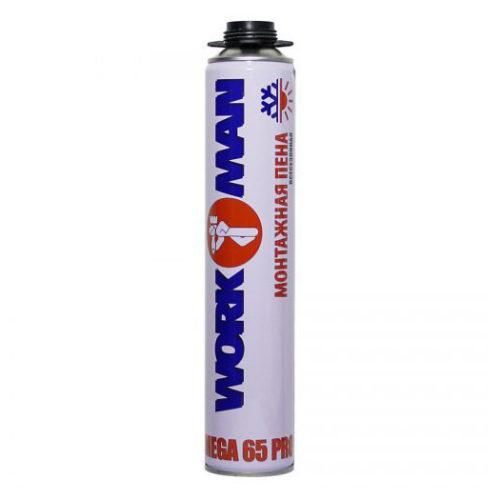 Пена WORKMAN MEGA 65 PRO профи 770 гр по выгодной цене