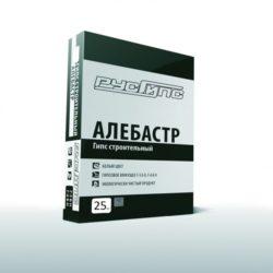 Алебастр ГИПС строительный Г-6 Русгипс  25кг