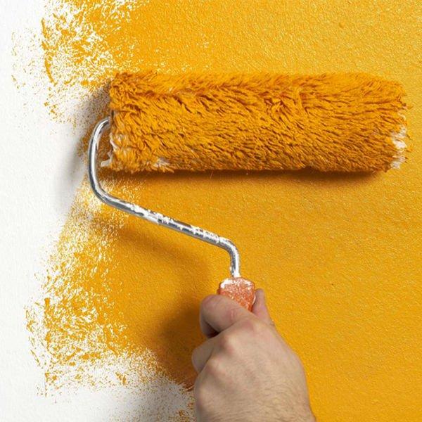 нанесение вододисперсионной краски