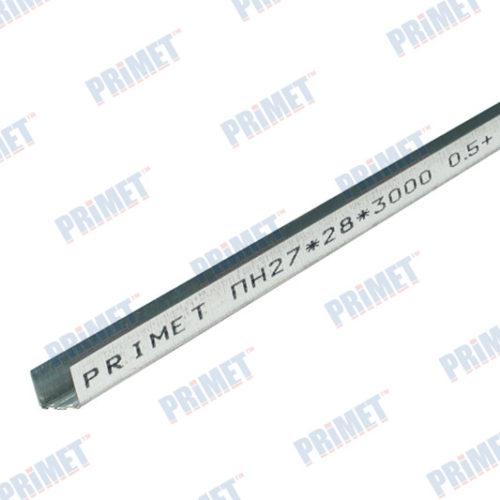 Профиль потолочный направляющий ПН 27х28х3м 0,35 по выгодной цене