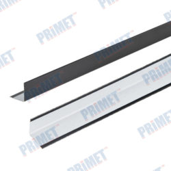 Профиль угловой пристеночный PR ПУ 19*19*3 (Черный)