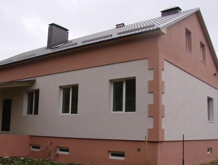 Устройство мокрого фасада