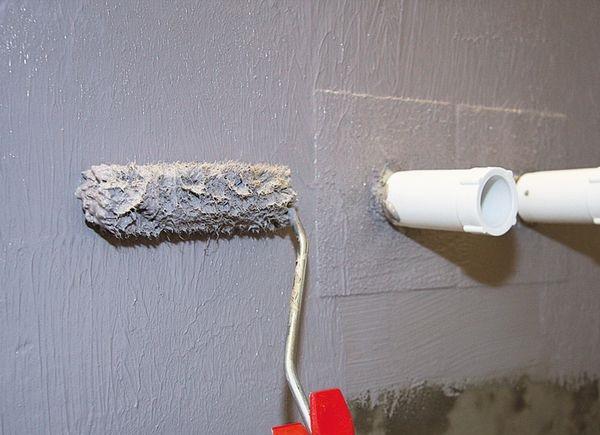гидроизоляция стены на цементной основе