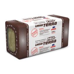 Плиты теплоизоляционные шумозащита URSA Terra 34PN 1250х610х50, 7,62 кв.м
