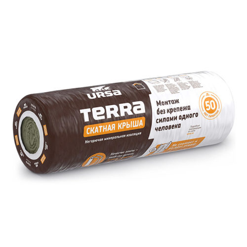 Маты теплоизоляционные URSA Terra 35 QN 4500-1200-100 (5.40 кв.м)/24 по выгодной цене