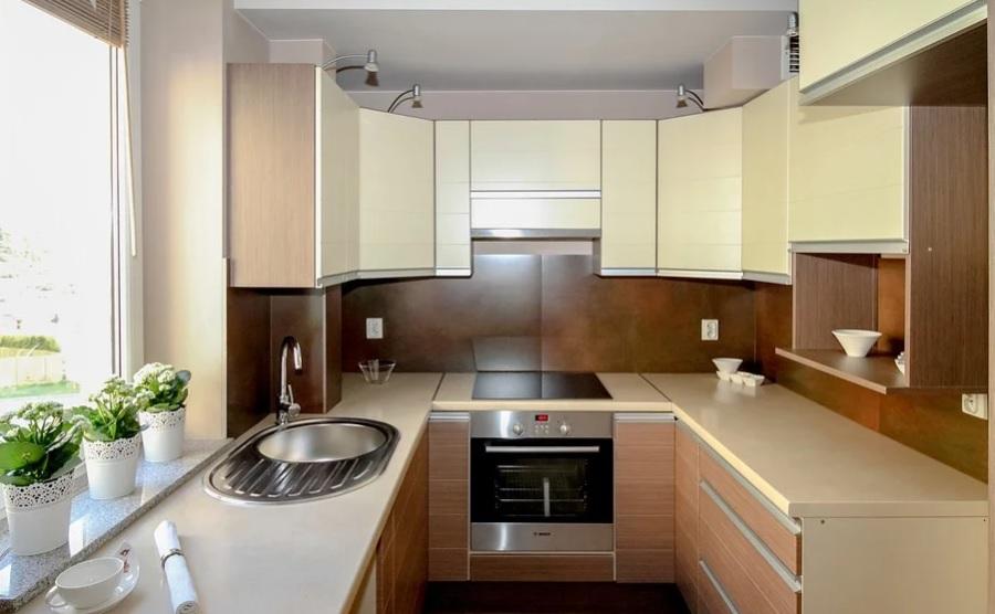 расширить пространство на кухне