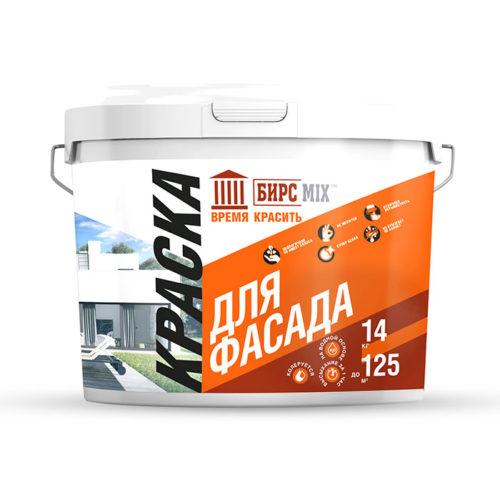 Краска фасадная, БИРСMIX 1,5  кг / 8/ 336 по выгодной цене