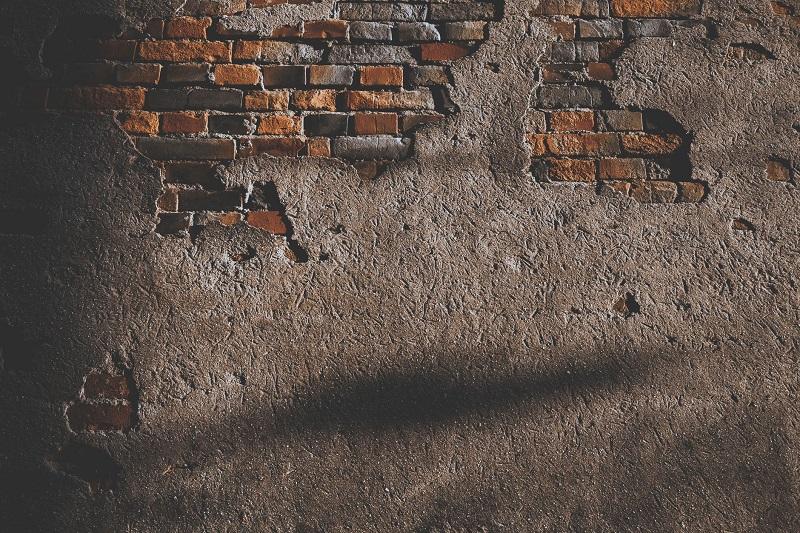 отделка стены без выравнивания